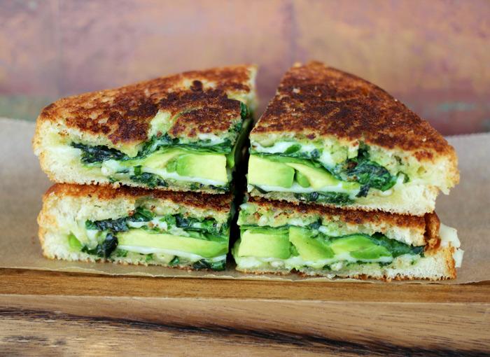 Vegan Green Goddess Griller. The best damn vegan grilled cheese ever! neuroticmommy.com