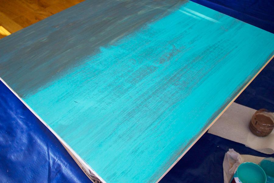Distressed Wood Panels