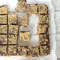 Oatmeal Cacao Breakfast Bars