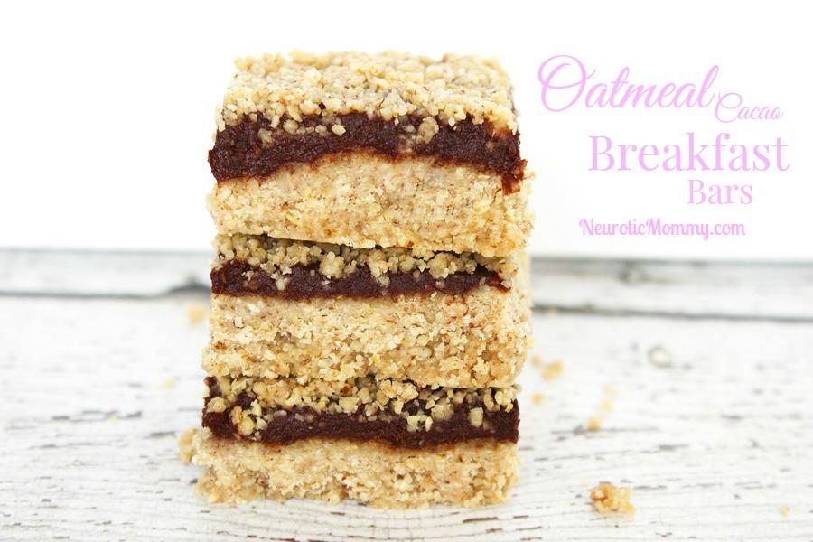 Oatmeal Cacao Breakfast Bars