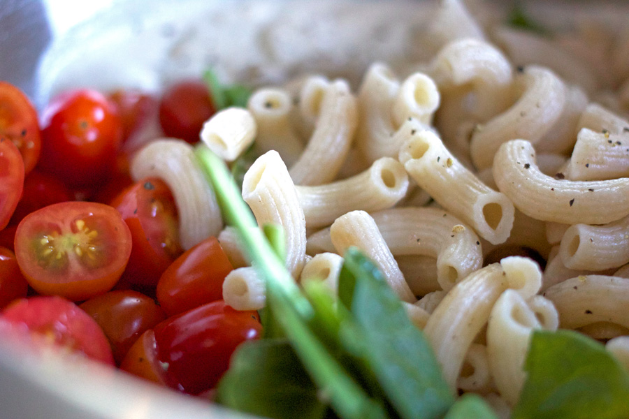 Pasta Salad with Cashew Ricotta