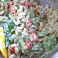 Pasta Salad with Cashew Ricotta