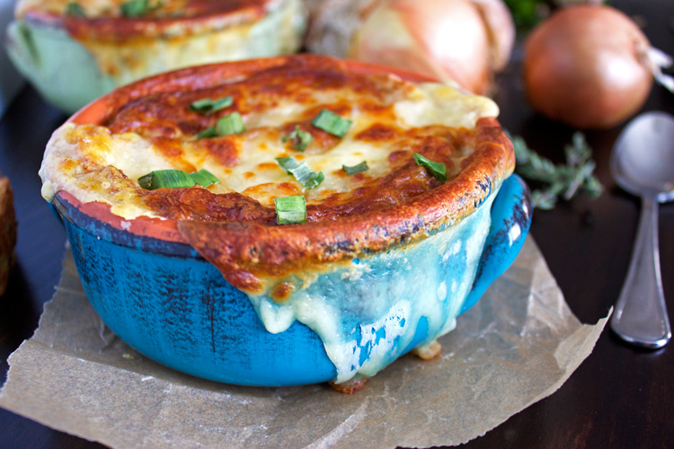 Vegetarian French Onion Soup