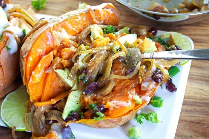 Baked Sweet Potato Supreme