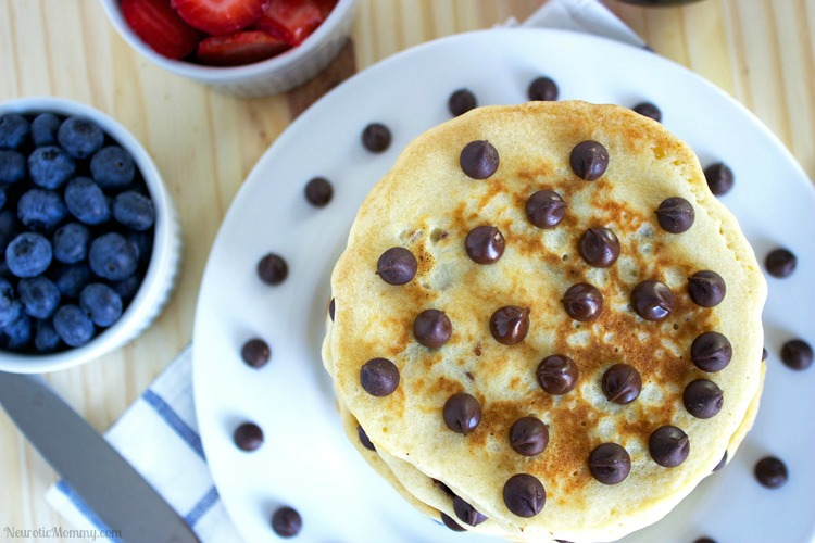 Chocolate Chip Pancakes