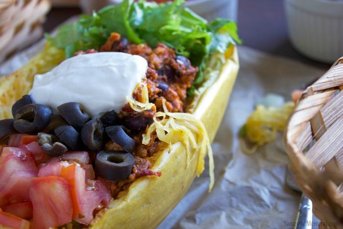 Spaghetti Squash Street Tacos