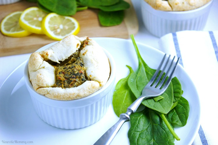 Spinach and Artichoke Soufflé
