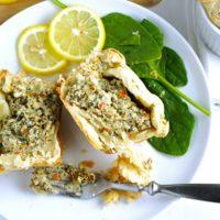 Spinach and Artichoke Soufflé