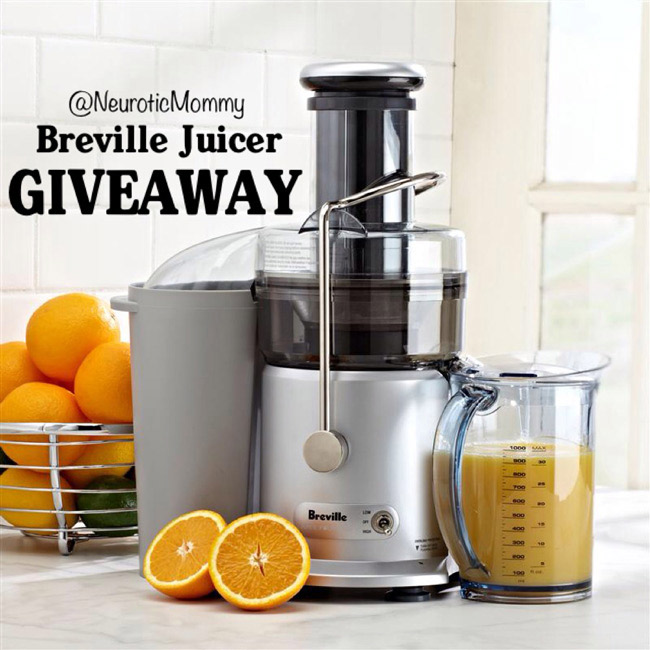 NeuroticMommy's Breville Juicer Giveaway