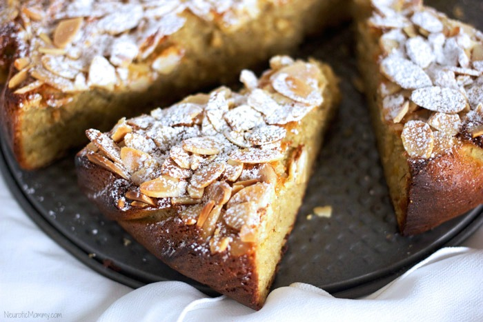 Lemon Almond Ricotta Cake