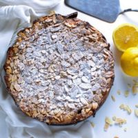Lemond Almond Ricotta Cake