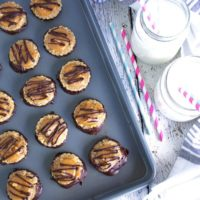 Clean No Bake Samoa Cookies