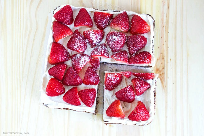 Vegan Strawberry Cream Tart