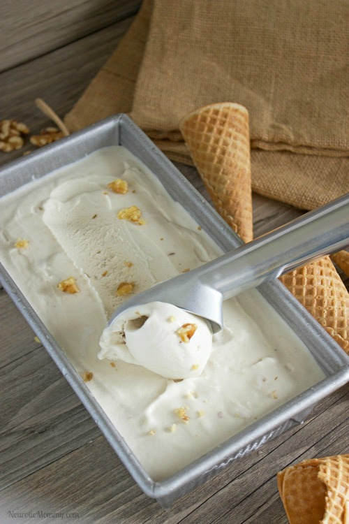 Salted Caramel Walnut Ice Cream