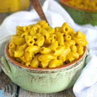 Vegan Nacho Mac n Cheese