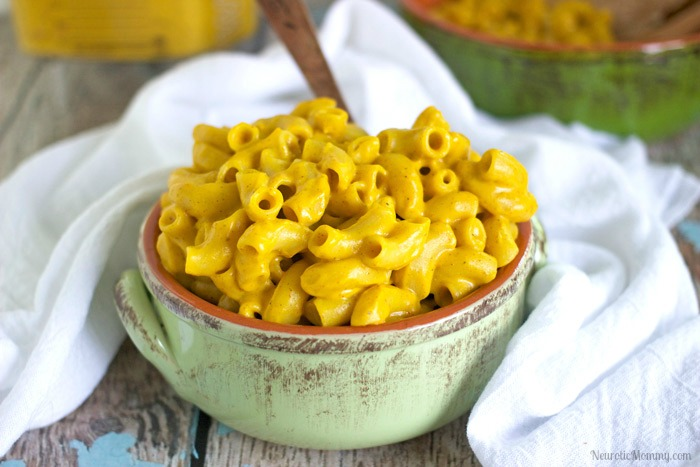 Vegan Nacho Mac n Cheese