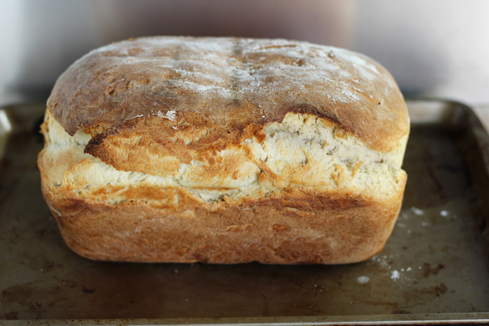 Organic Classic White Bread. neuroticmommy.com