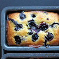 The Best Mini Blueberry Lemon Loaves. neuroticmommy.com