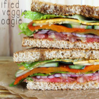 Healthified Super Veggie Hoagie vegan sandwiches