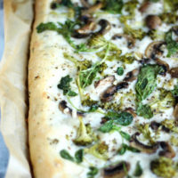 Plant Based Flatbread Veggie Pizza. neuroticmommy.com