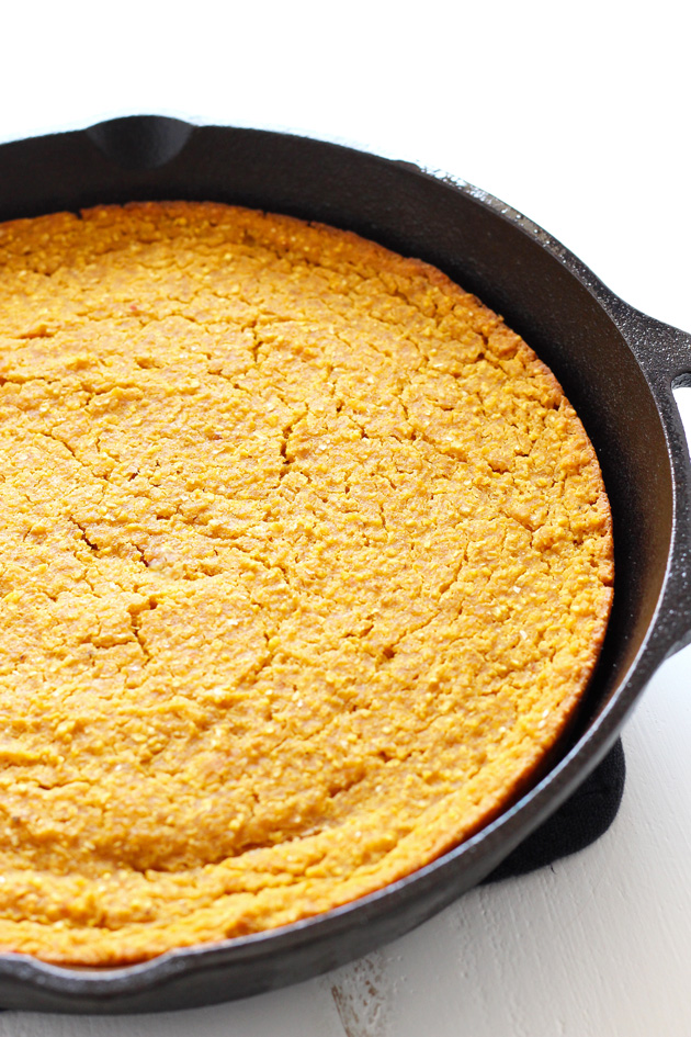 Maple Pecan Pumpkin Cornbread
