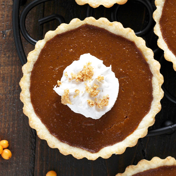 Single Serve Pumpkin Pie, for the true pumpkin lovers who do not wish to share this magical, pumpkin-y dessert. Healthy, high in magnesium, and deliciously creamy and dreamy. NeuroticMommy.com #vegan #thanksgiving #pumpkinpie