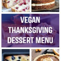 Vegan Thanksgiving Dessert Menu - Enjoy these classic and traditional turned plant based desserts your whole family will love! NeuroticMommy.com #vegan #thanksgiving #plantbased #veganthanksgiving