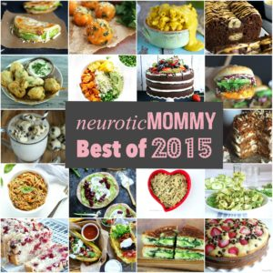 Most Popular Recipes of 2015 and Hello 2016. NeuroticMommy.com #vegan #healthy #newyear #2016