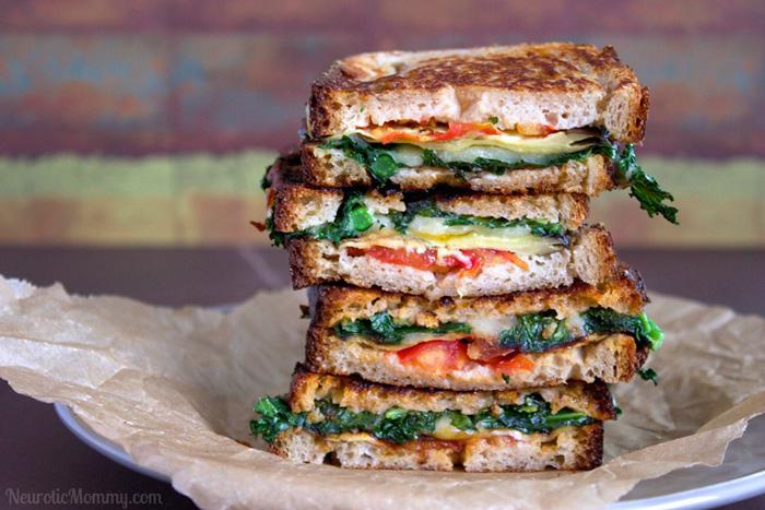Ultimate Loaded Grilled Vegan BLT