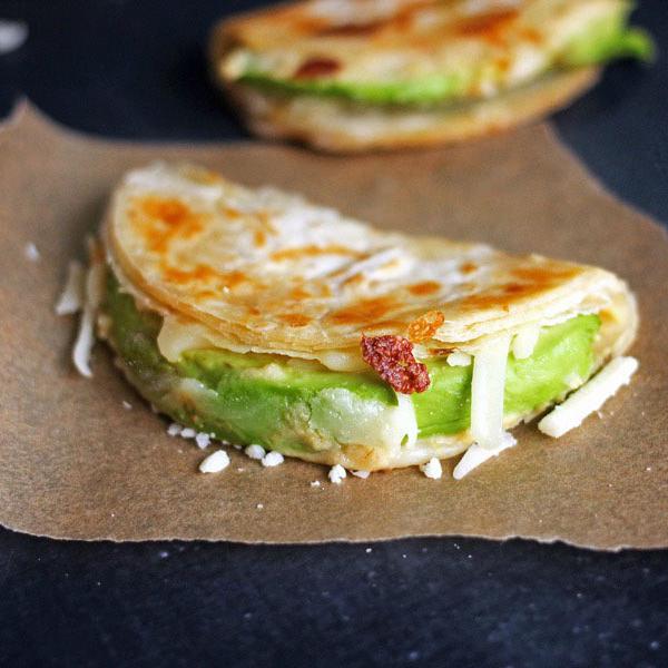 12 winning vegan recipes for super bowl Sunday Easy Avocado and Hummus Quesadillas