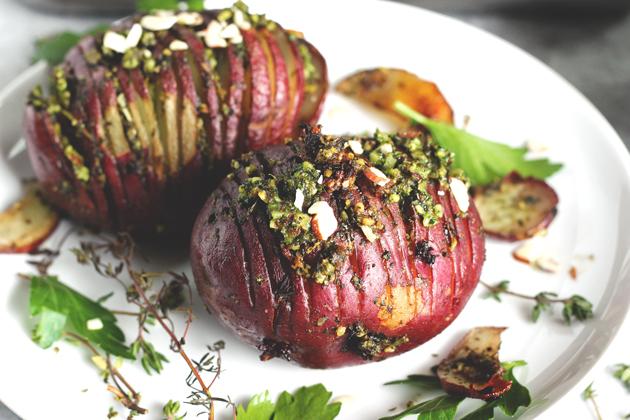 Pesto Herb Roasted Potatoes