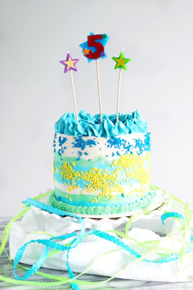 Vegan Vanilla Birthday Cake Neuroticmommy