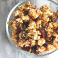 Back To School Popcorn Bark - A quick, simple, wholesome snack for the whole family to enjoy! NeuroticMommy.com #vegan #backtoschool #snacks