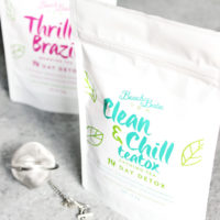 The Benefits of Beach Babe Organic Tea - Rejuvenate, enhance digestion, cleanse, and relax with these organic herbals loose leaf blends. NeuroticMommy.com #vegan #tea #healthy