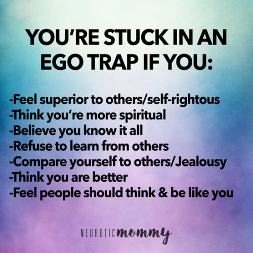 Are You Stuck In An Ego Trap