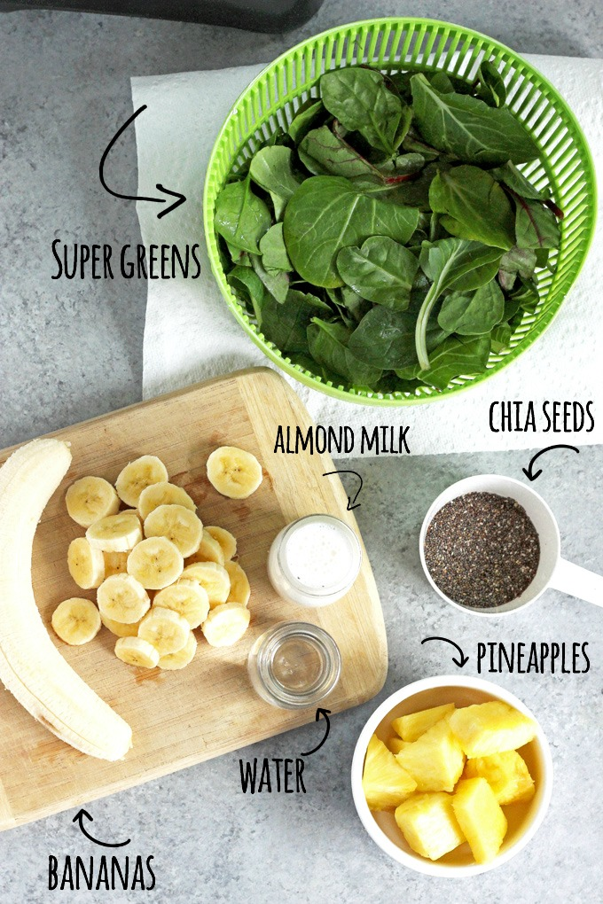Super Green Cleansing Smoothie - An easy way to nourish your body and provide yourself with