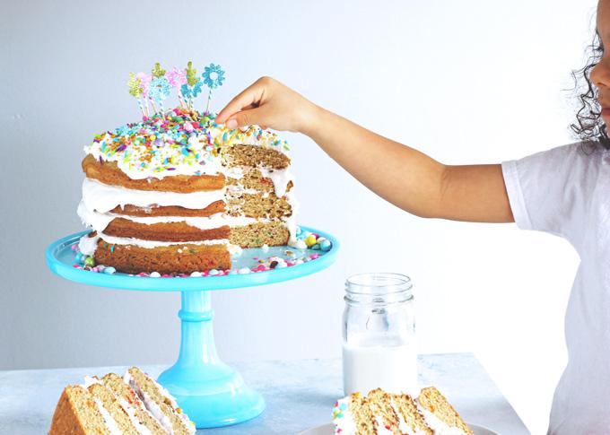 Unicorn Birthday Party Cake