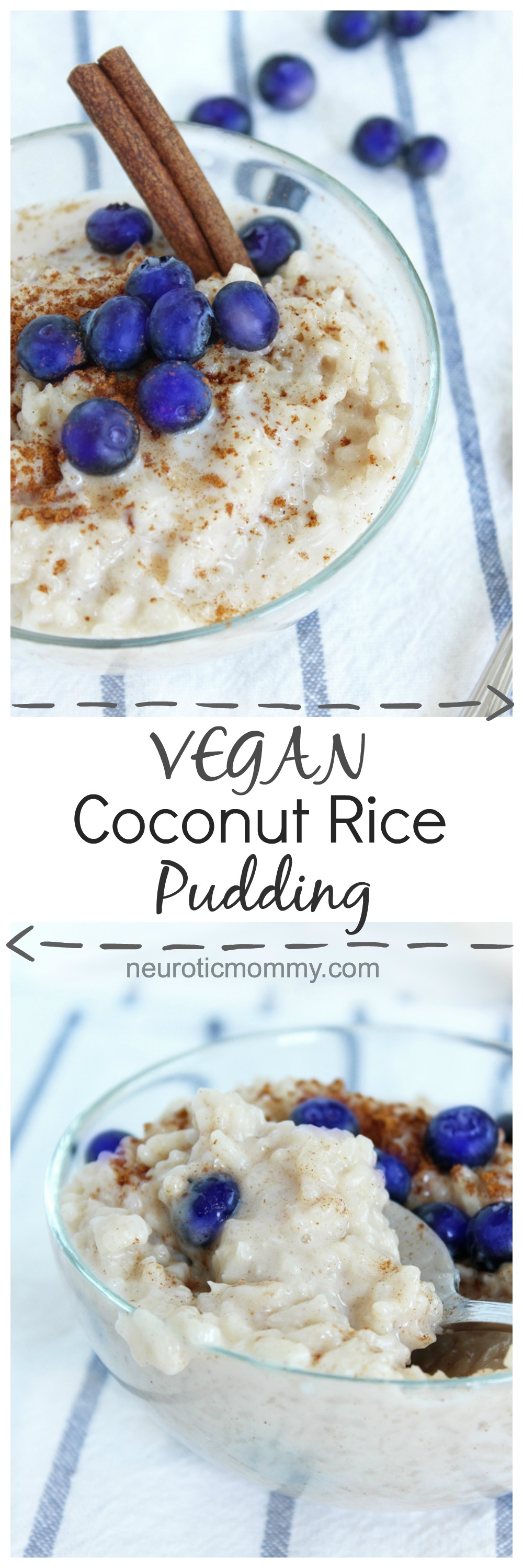 Vegan Coconut Rice Pudding - NeuroticMommy