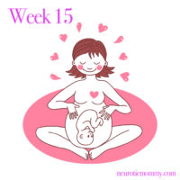Pregnancy Week 15 - NeuroticMommy pregnancy week by week. NeuroticMommy.com #vegan #moms #motherhood
