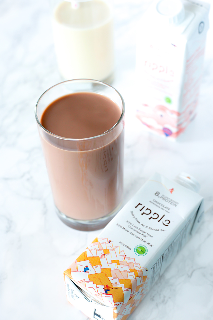 Ripple Milk Review Made From Peas - A delicious dairy-free milk, perfect for lunch boxes, snacks and drinking on the go. And it doesn't require refrigeration which is even better for active lifestyles. NeuroticMommy.com #vegan #dairyfree