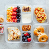 Healthy Vegan Back to School Lunchbox Ideas - These incredibly easy vegan lunches are perfect for both kids and adults alike! Making these will save you time, nourish you and your children all while being fun and delicious! NeuroticMommy.com #vegan #backtoschool