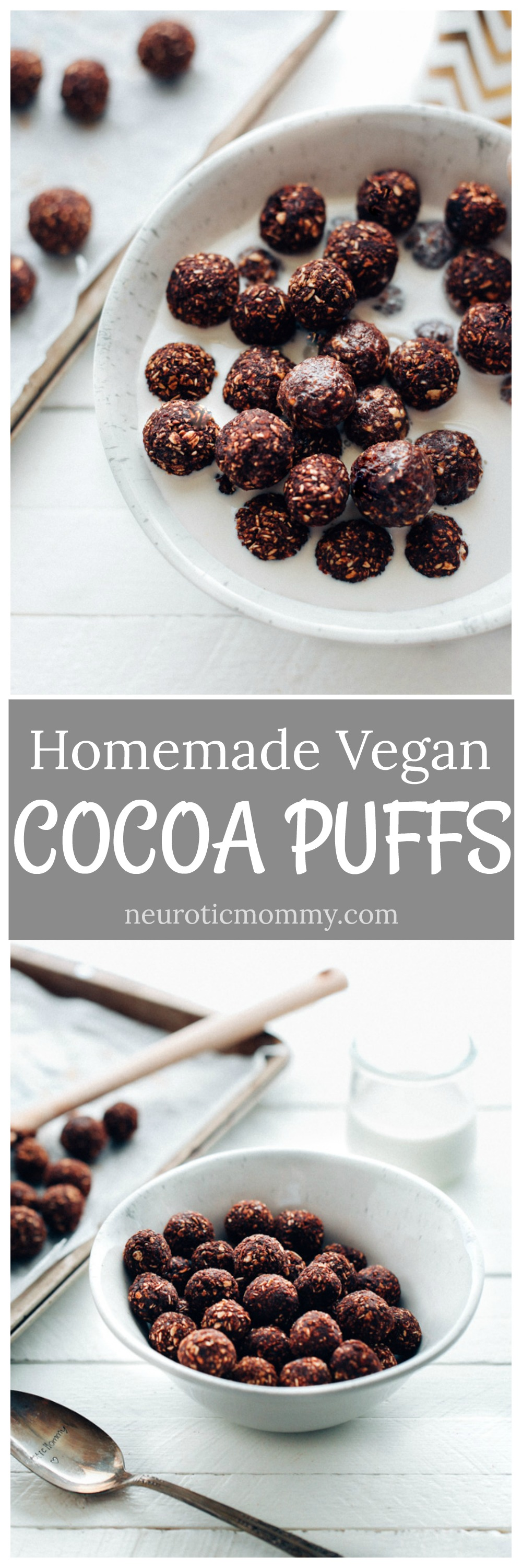 Homemade vegan cocoa puffs neuroticmommy homemade vegan cocoa puffs 4 ingredient chocolatey cereal thats naturally sweetened and perfect for breakfast ccuart