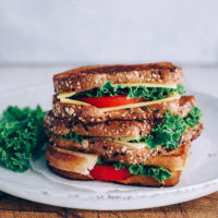 Super Cheesy Vegan Grilled Cheese