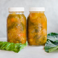Immune Boosting Vegetable Broth - Fight against colds and flus by building up your immune system with this anti-inflammatory broth. Keeping healthy no matter what the season is optimal. NeuroticMommy.com