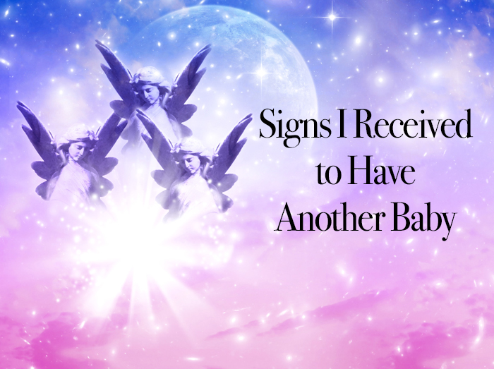 Signs I Received To Have Another Baby - with intuition and assistance from her guides read how Jennifer had Oliver her second son after 6 years. NeuroticMommy.com #pregnancy #signs #angels