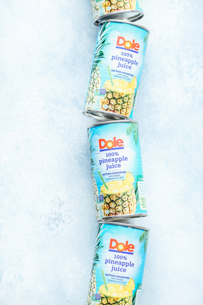 Dole Piña Colada Ice Pops - A charming classic that's super easy to make, refreshingly sweet and delicious as ever. NeuroticMommy.com #healthysnacks #vegan #pinacolada