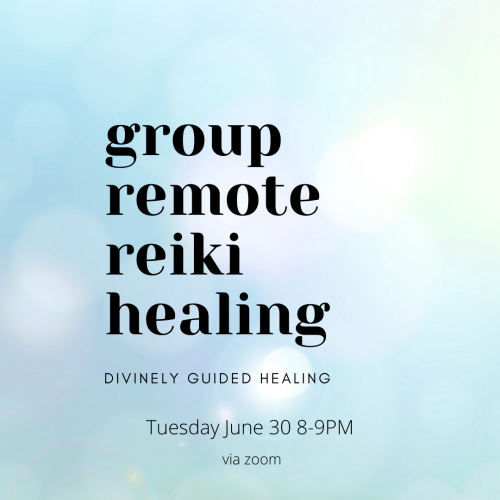 Group Reiki Healing via Zoom